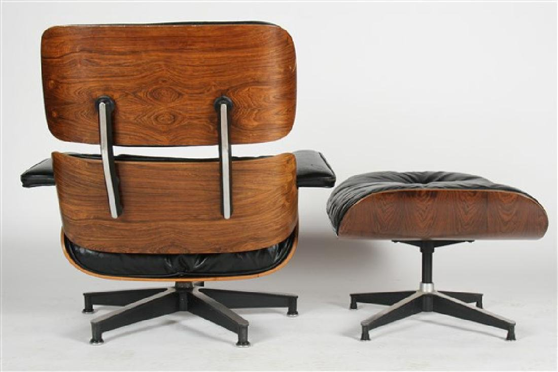 Eames for Herman Miller Lounge Chair & Ottoman - 3