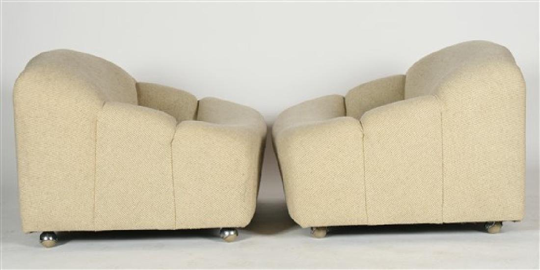 Two Pierre Paulin for Artifort ABCD Lounge Chairs - 2