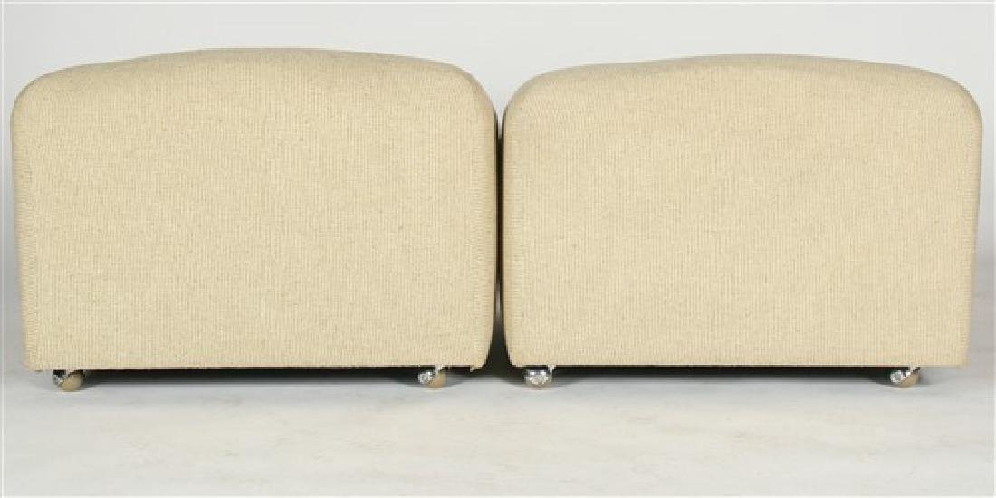 Two Pierre Paulin for Artifort ABCD Lounge Chairs - 3