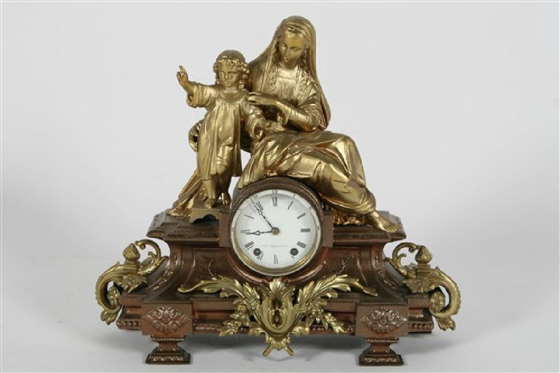 "Seth Thomas ""Madonna and Child"" Model Clock"