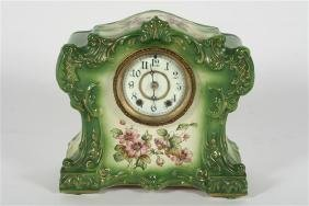 1891 Waterbury Porcelain Parlor Shelf Clock