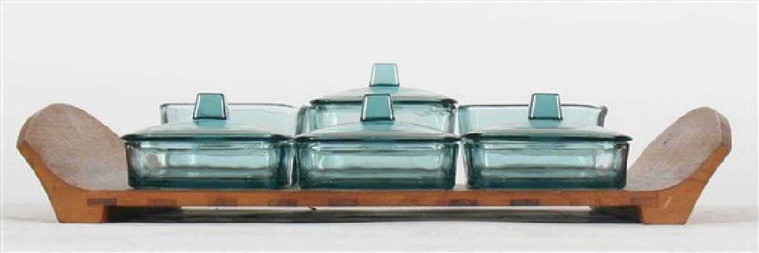 Jens Quistgaard for Dansk Tray & Glass Containers - 4