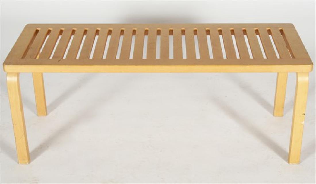 Alvar Aalto for Artek 153A Bench