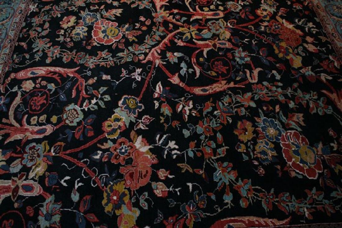 Hand-Woven Turkish Rug (20th Cent.) - 3