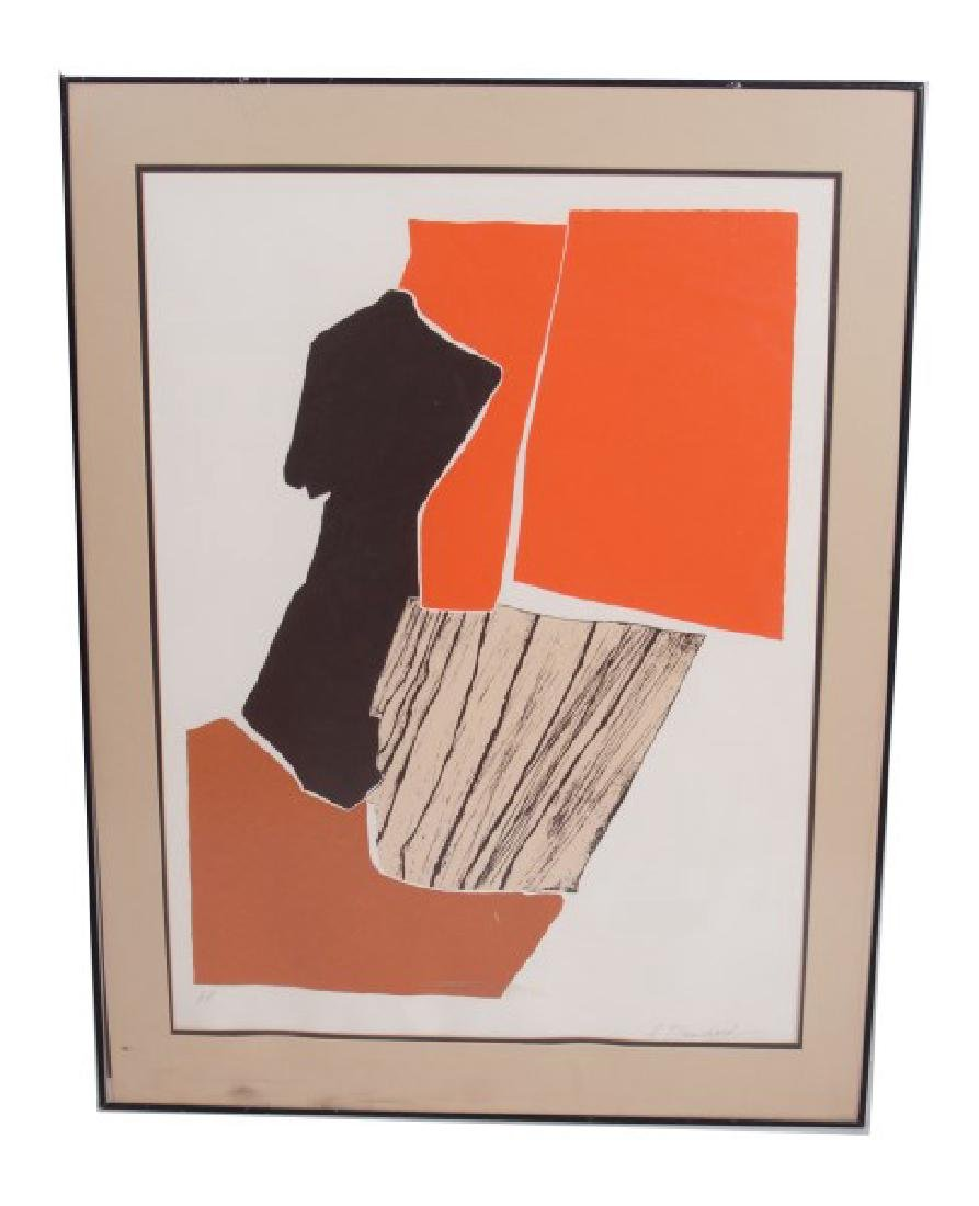 "A. Blanchard (20th C.) ""Abstract"" - 2"