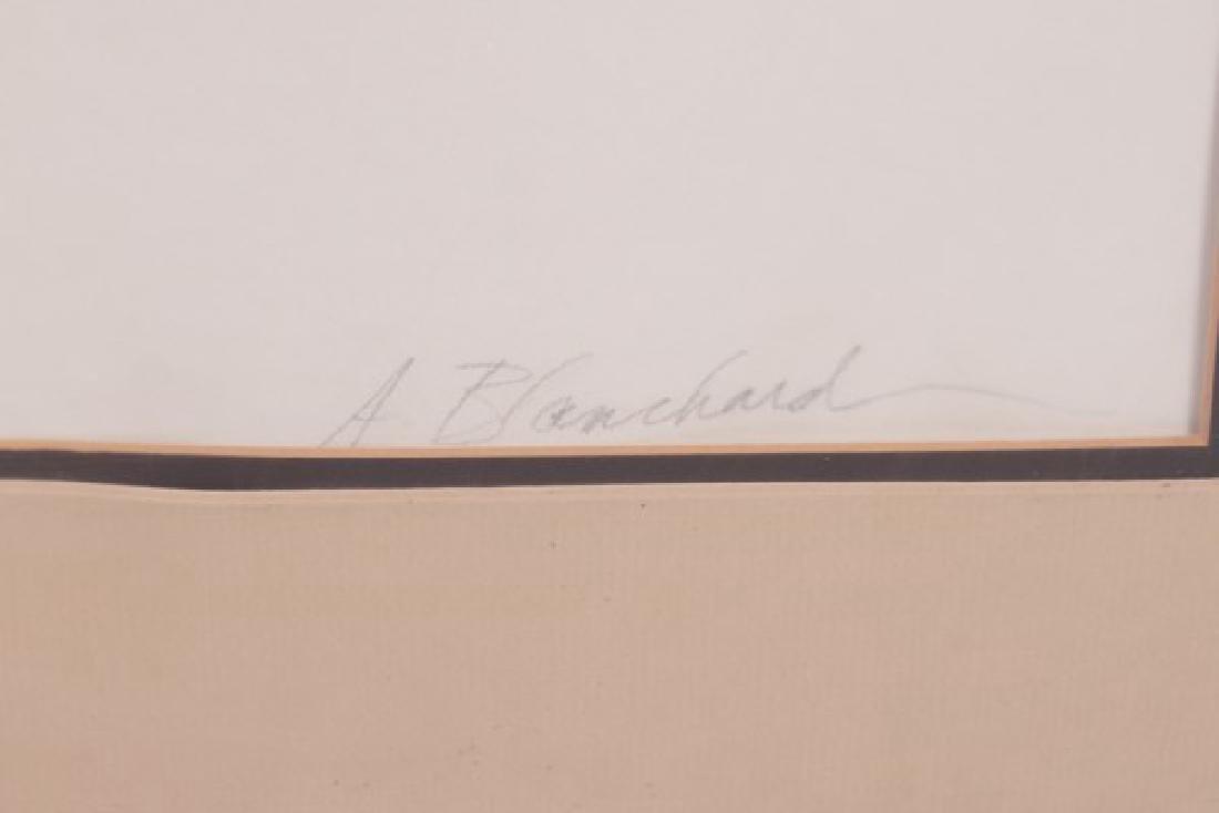 "A. Blanchard (20th C.) ""Abstract"" - 3"
