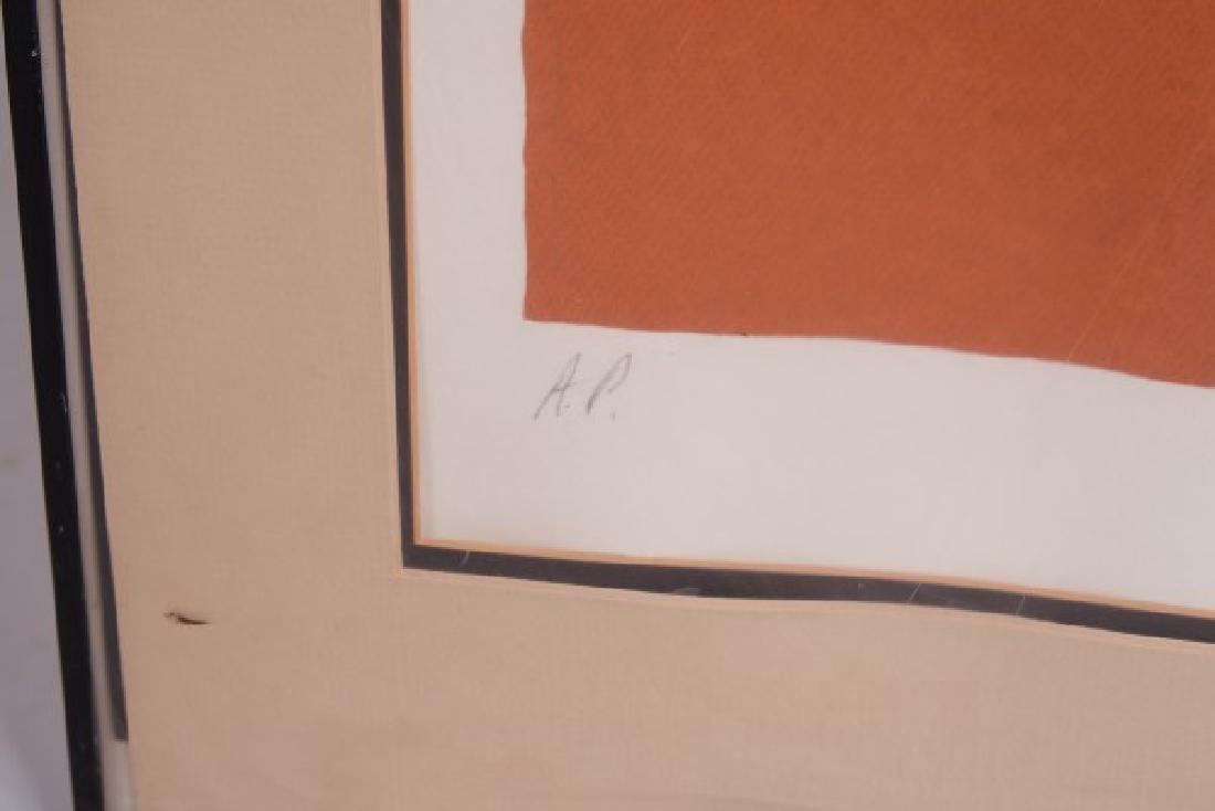 "A. Blanchard (20th C.) ""Abstract"" - 4"
