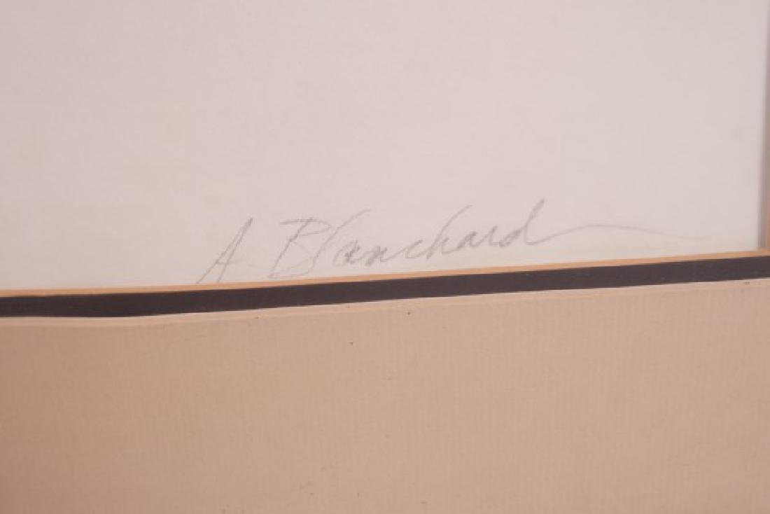 "A. Blanchard (20th C.) ""Abstract"" - 5"