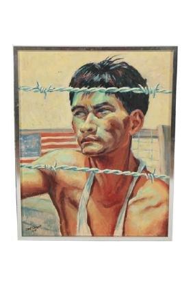 Cook Glassgold (1899-1985), Untitled Portrait 1975