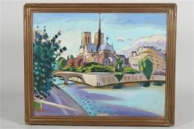 "Greg Sobran (b. 1947), ""Notre Dame"""
