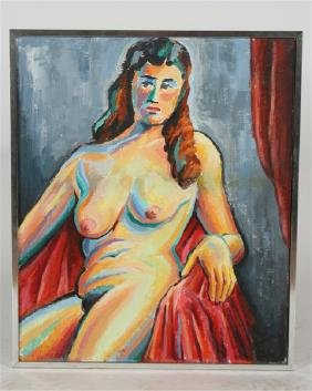 Cook Glassgold (1899-1985), Untitled Nude 1978