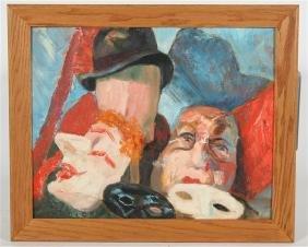 Lila Isaacs, Painting of Masks
