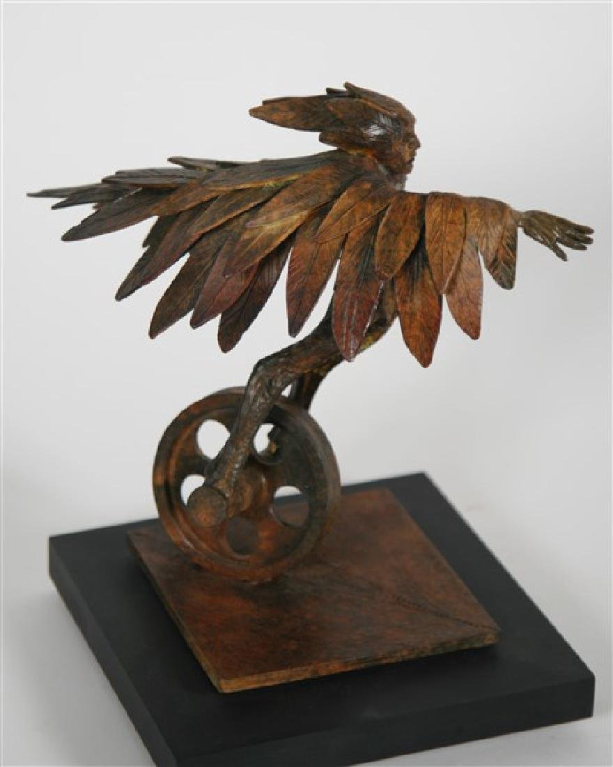 "Theodore ""Ted"" Gall (20th Cent.), ""Winged Runner"" - 4"
