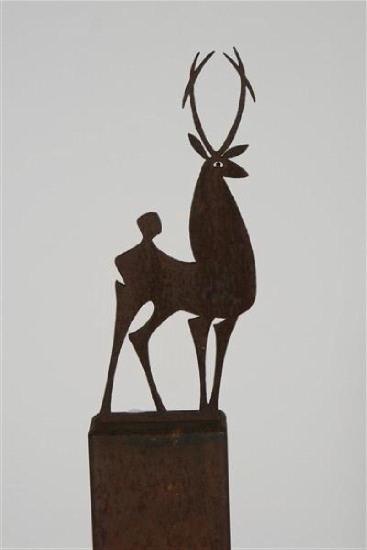 Bruce Mainquist (20th Cent.), Deer Sculpture - 2