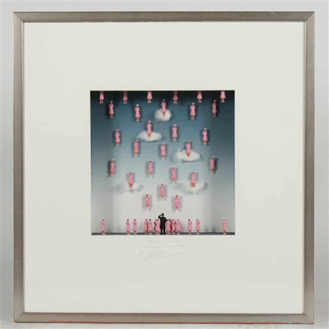 "Volker Kuhn (b. 1948) ""Homage to Rene Magritte..."""