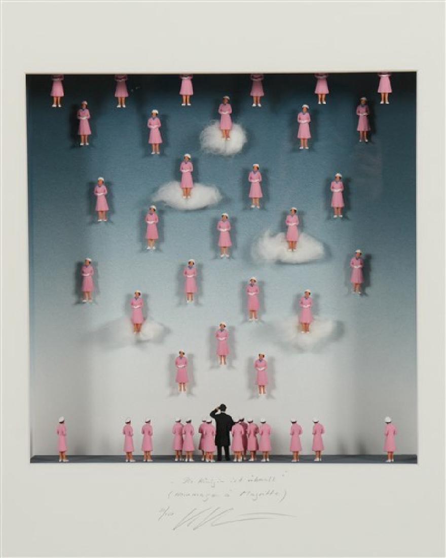 "Volker Kuhn (b. 1948) ""Homage to Rene Magritte..."" - 2"