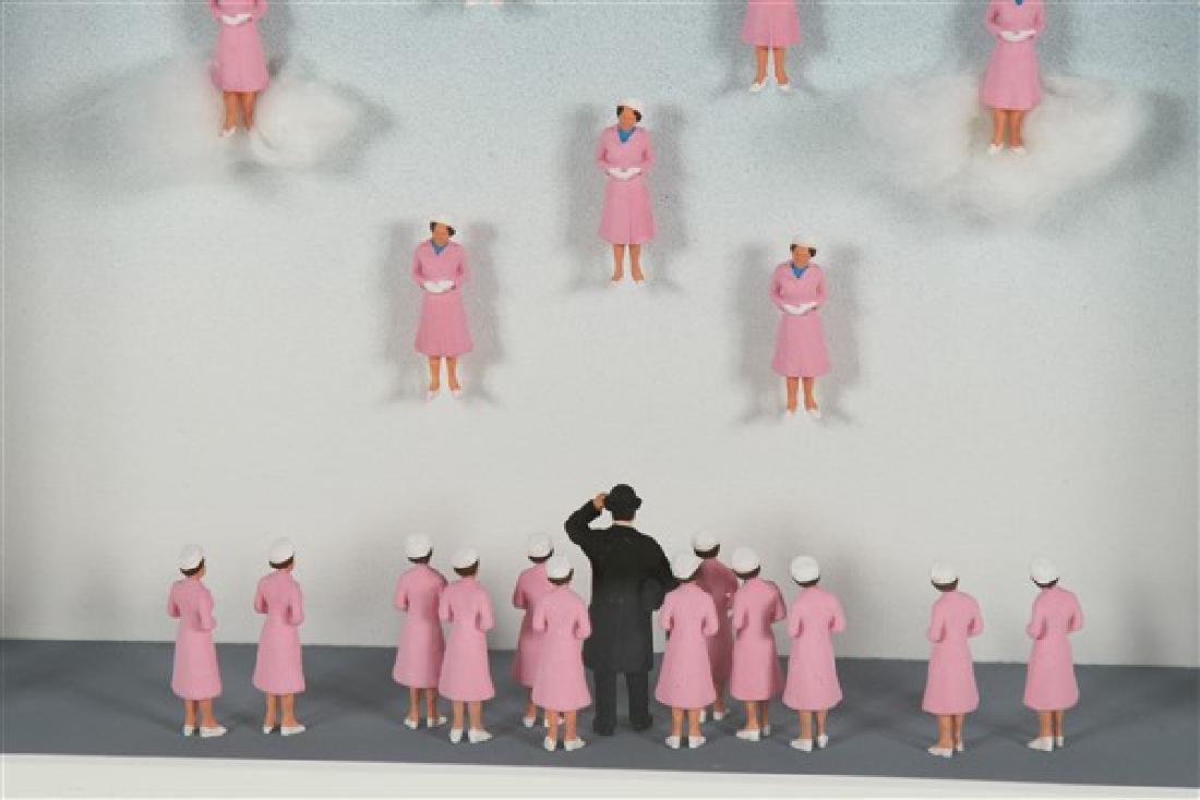 "Volker Kuhn (b. 1948) ""Homage to Rene Magritte..."" - 5"