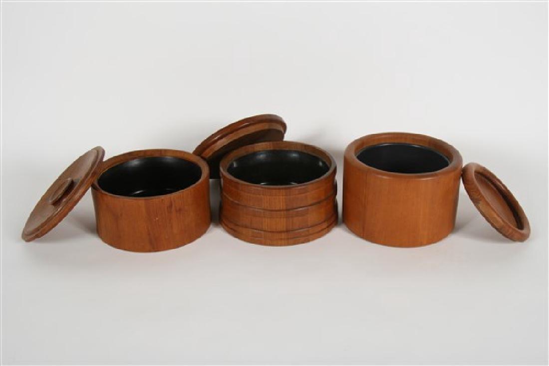 Three Jens Quistgaard for Dansk/Nessen Ice Buckets - 2