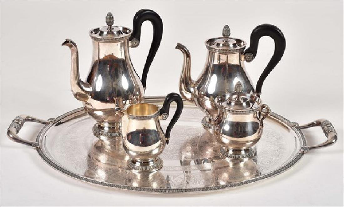 Christofle Silver Plate Coffee and Tea Service