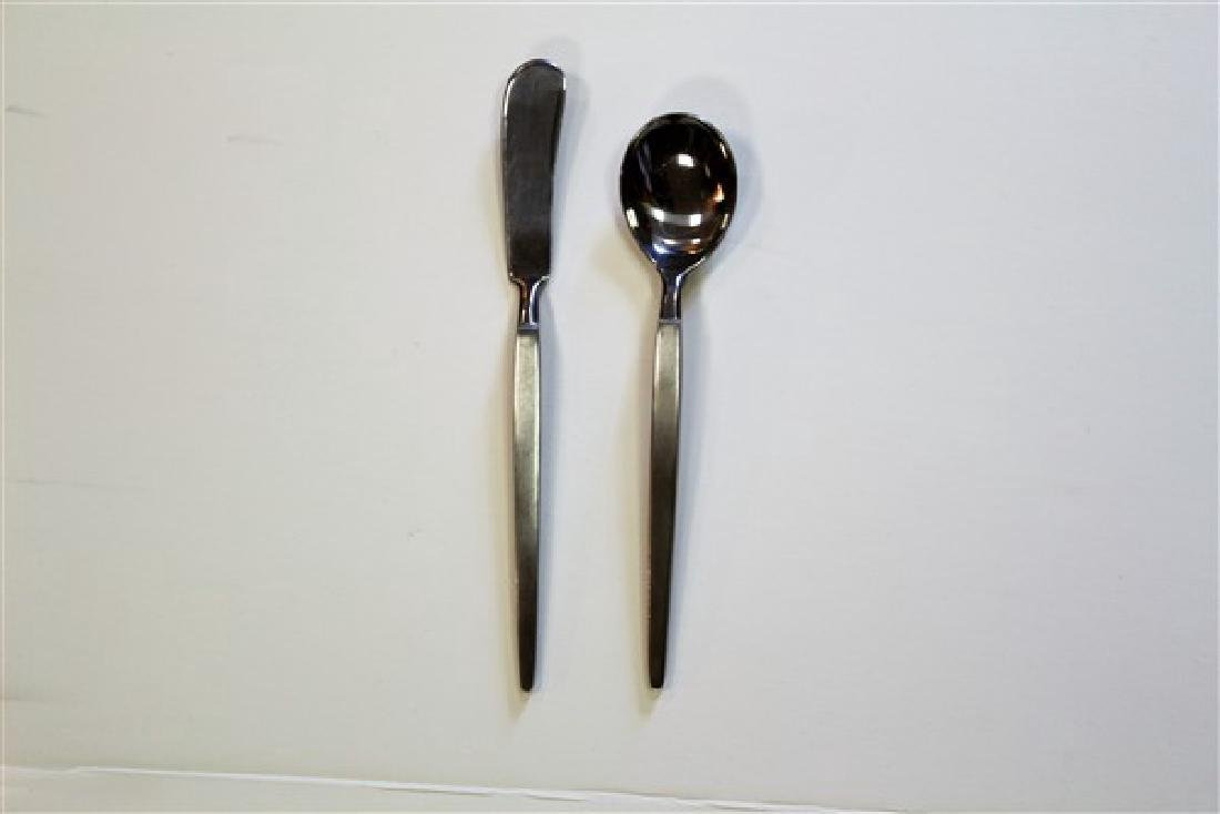 Stanley Roberts Stainless Japan Astro Flatware - 8