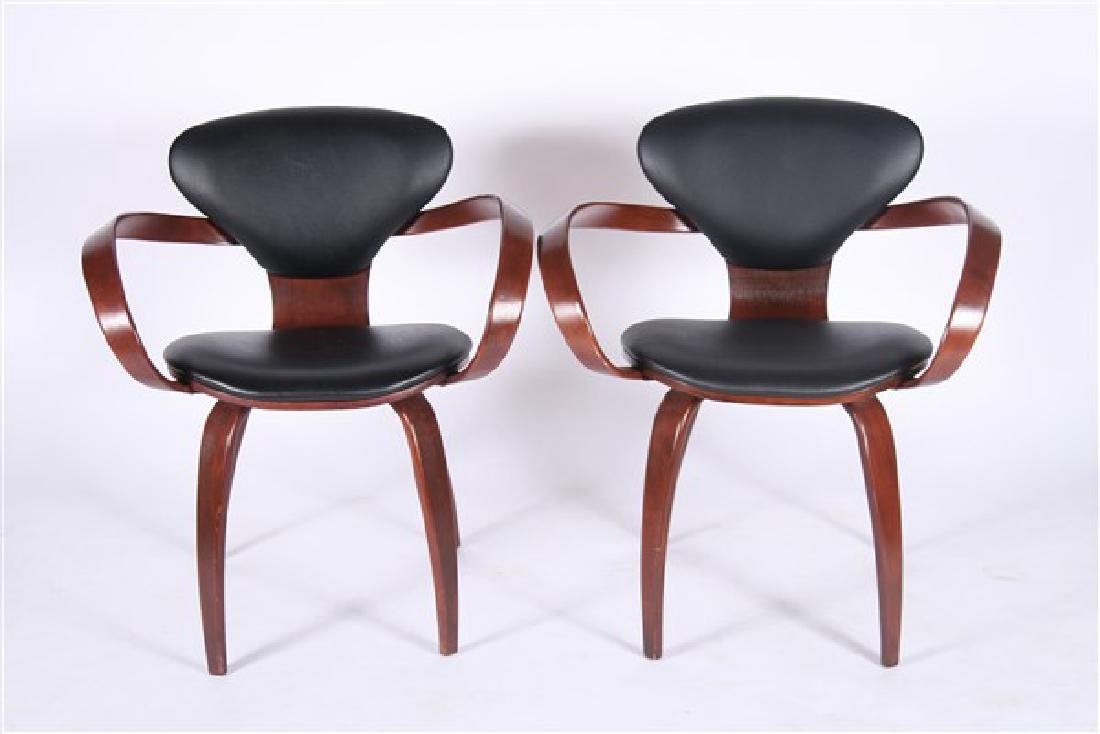 Pair of Norman Cherner for Paul Goldman Chairs