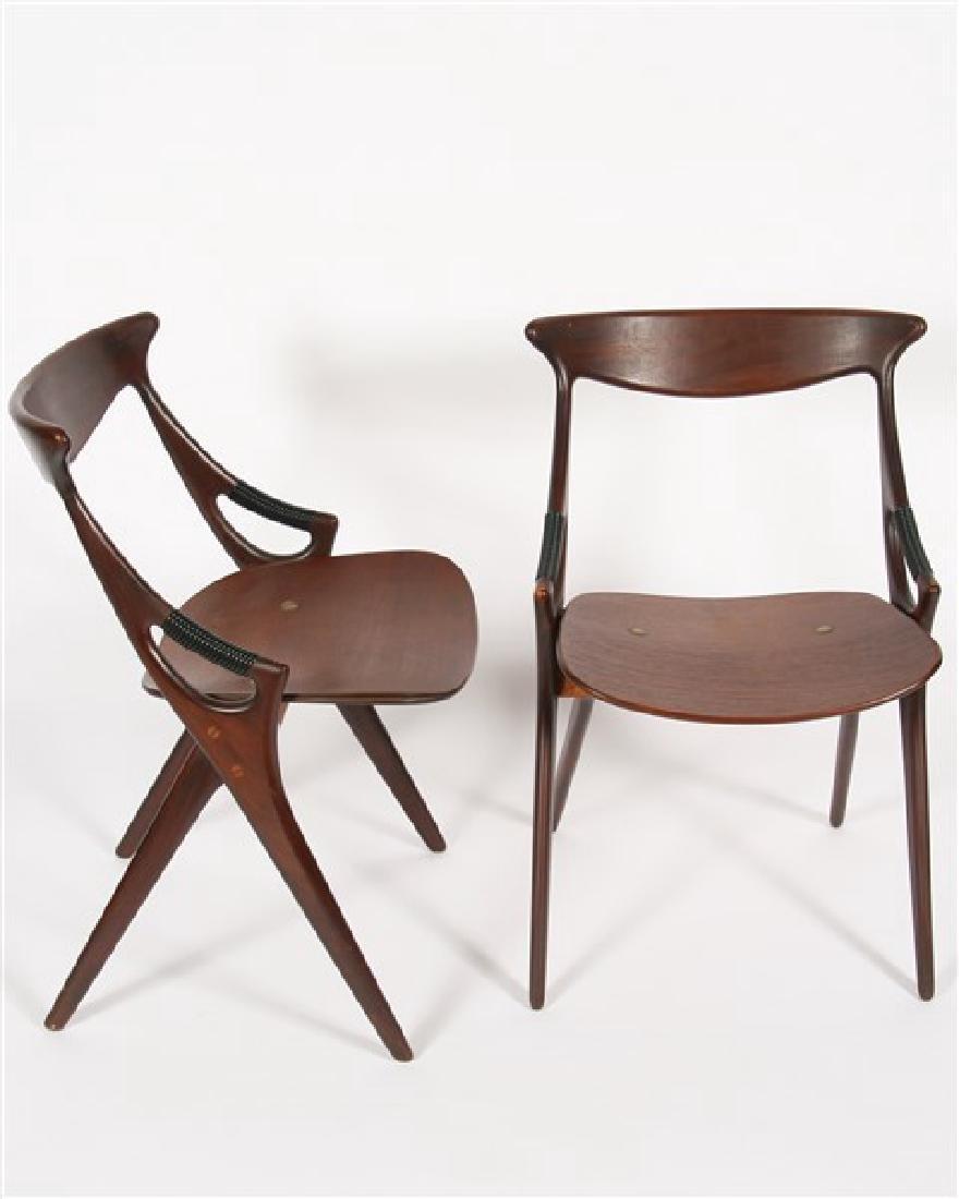 Arne Hovmand-Olsen, Three Dining Chairs