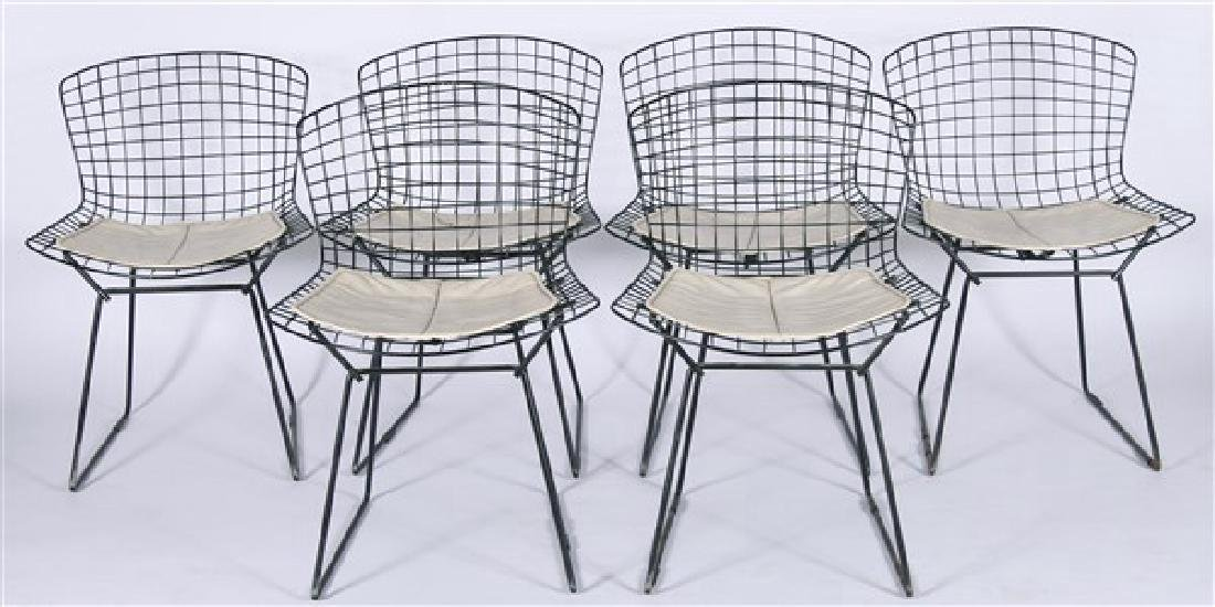 Harry Bertoia for Knoll, Set of 6 Side Chairs