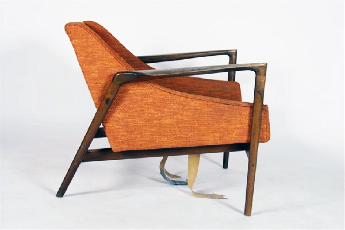Style of Kofod-Larsen, Mid-Century Lounge Chair