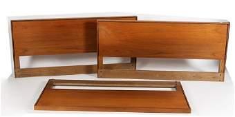 Florence Knoll (American), Set of Three Headboards