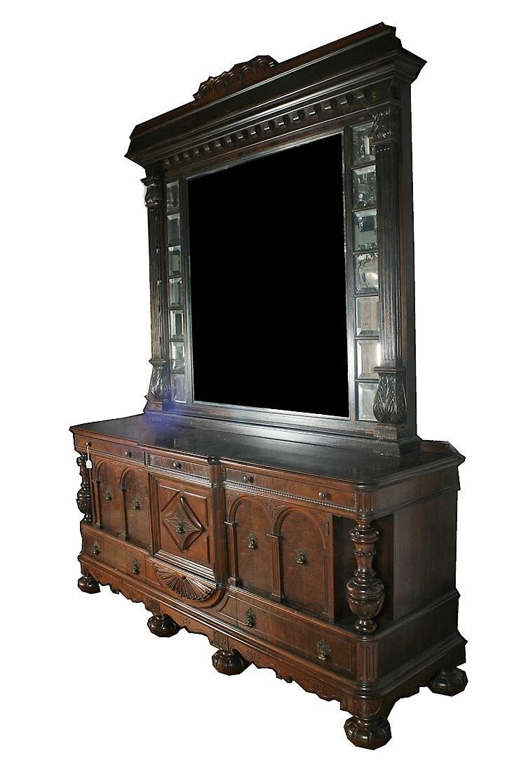 Rockford Furniture Company Buffet with Mirror