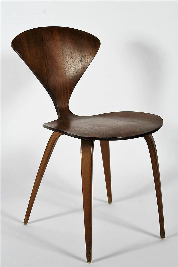 Norman Cherner for Plycraft, Bent Wood Side Chair