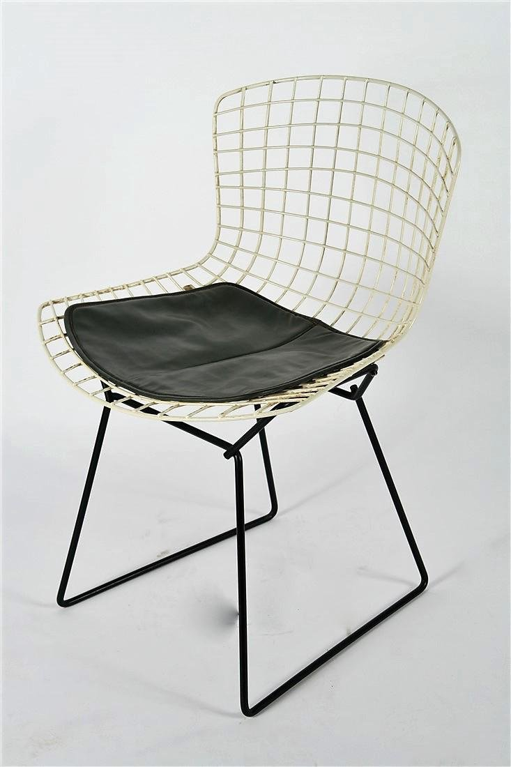 Harry Bertoia for Knoll, Two-Tone Wire Side Chair