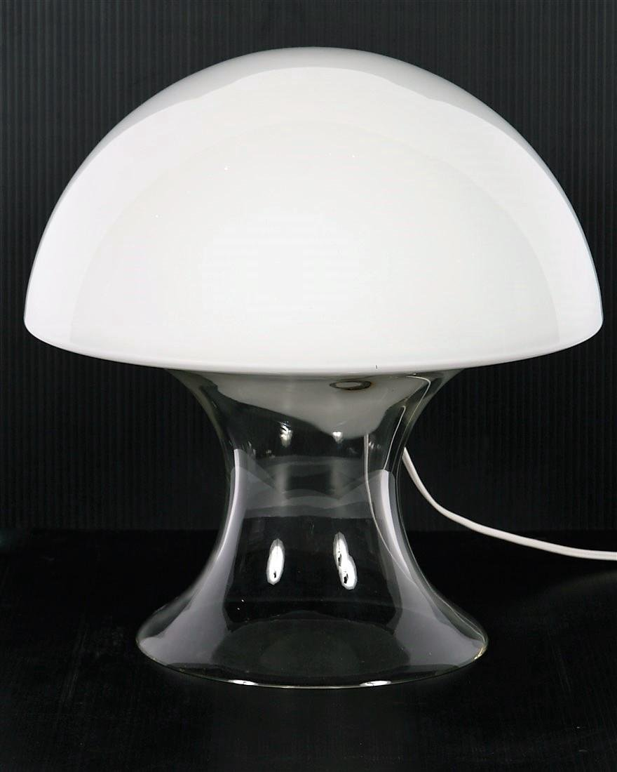 Gino Vistosi, Mushroom-Form Table Lamp