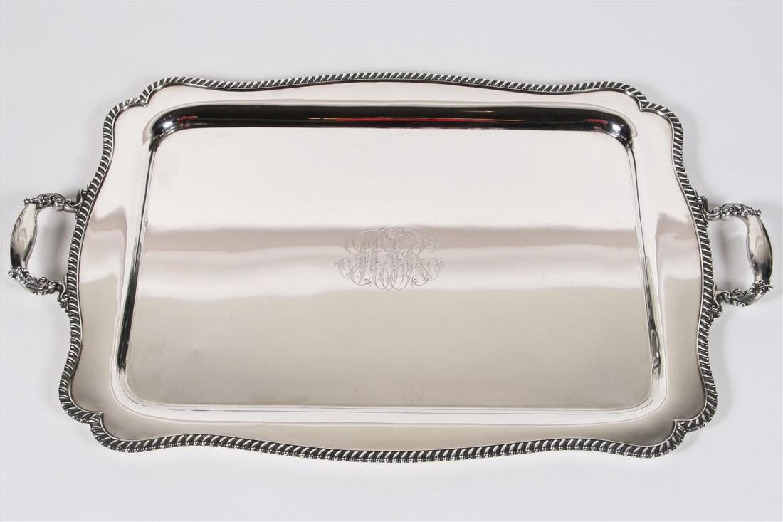 Gorham Manufacturing Company, Sterling Silver Tray