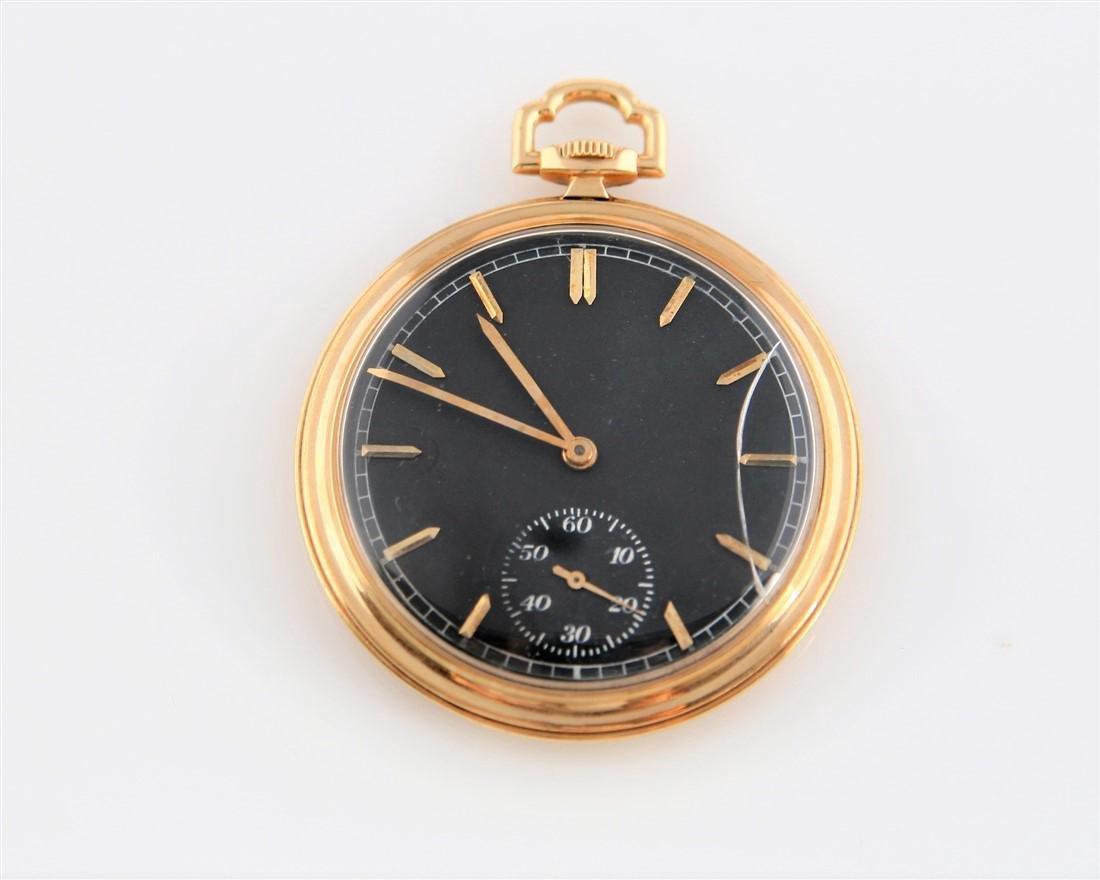 C.H. Meylan 14k Yellow Gold Pocket Watch