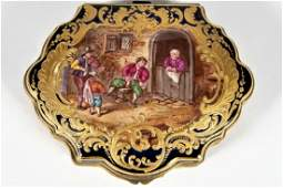 19th C Sevres Style Porcelain Hinged Box