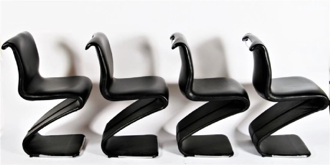 Gastone Rinaldi for RIMA, Four Dining Chairs