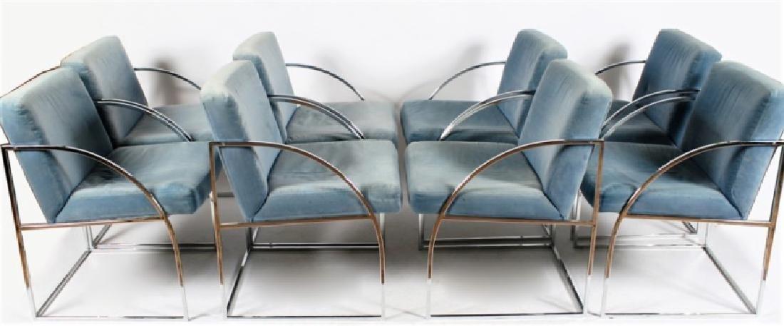 Thayer Coggin (American, est. 1953), Eight Chairs