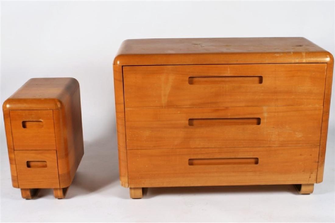 Paul Goldman for Plymold, Dresser and Nightstand