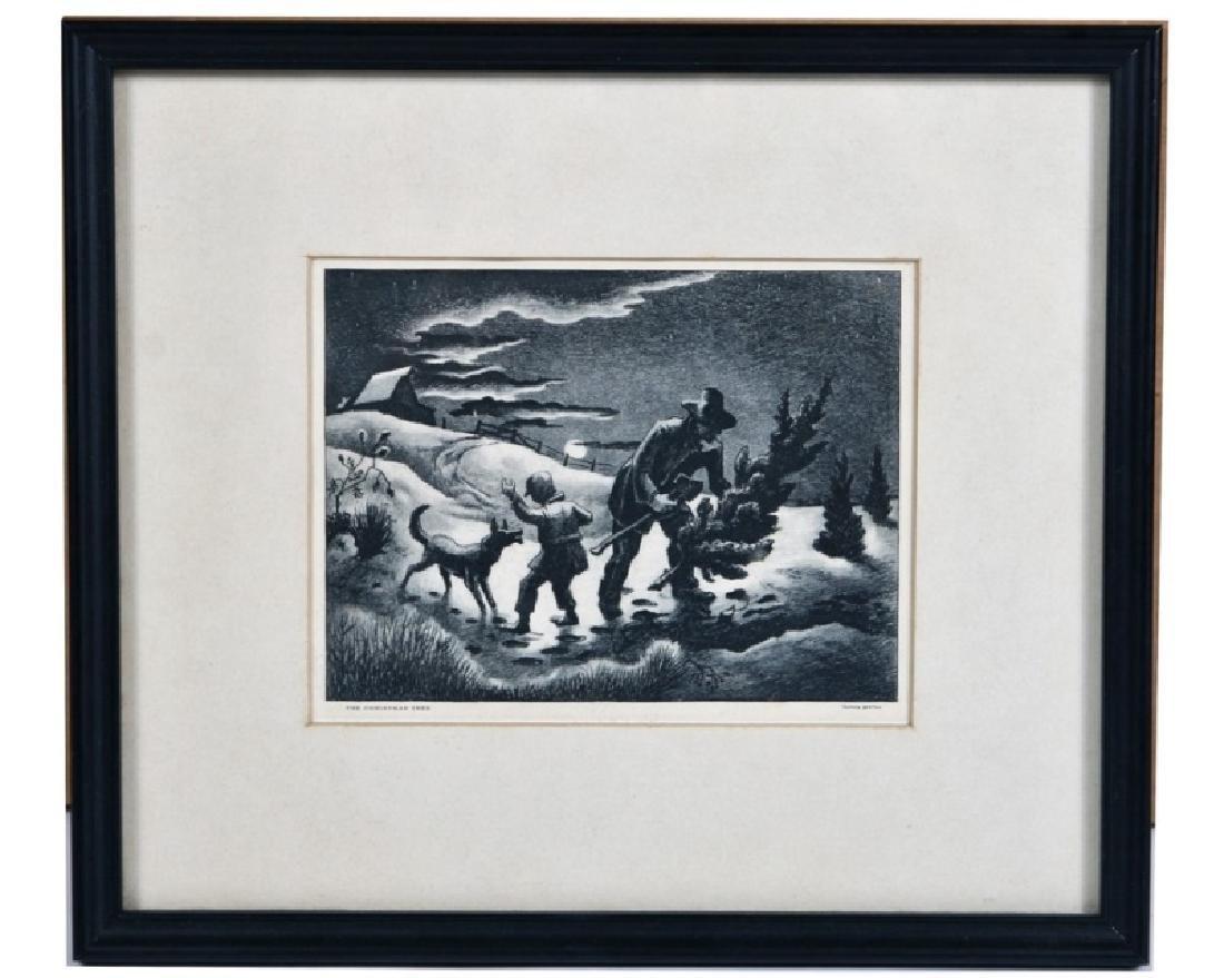 "Thomas Hart Benton (American) ""The Christmas Tree"""