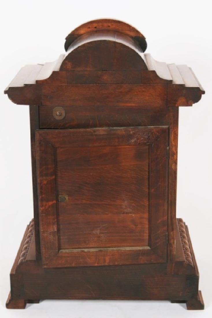 Junghans, Carved Oak Bracket Clock - 2