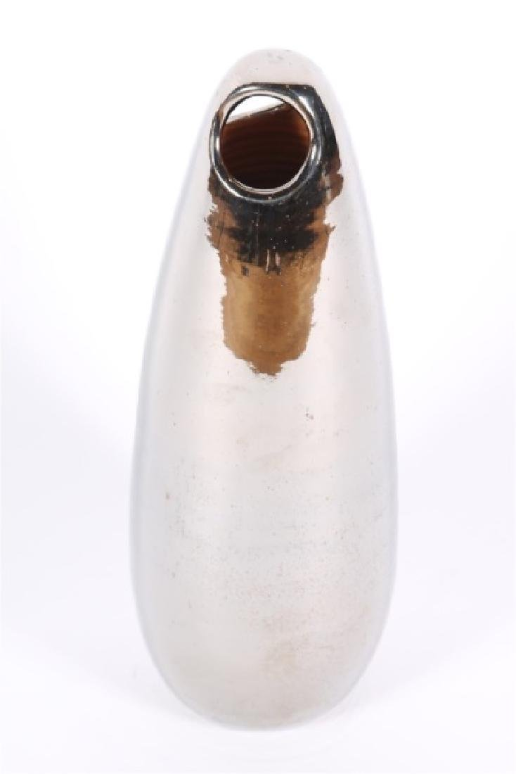 Italian Ceramic Vase with Metallic Glaze - 2