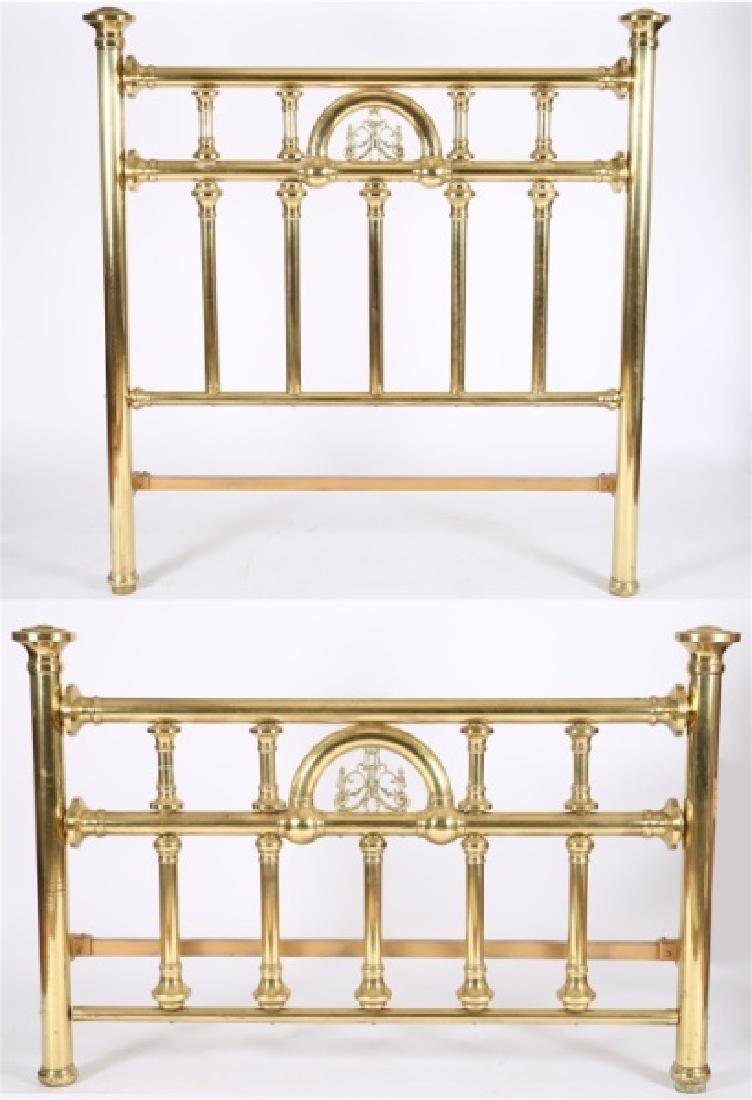 Victorian Brass Bed Frame