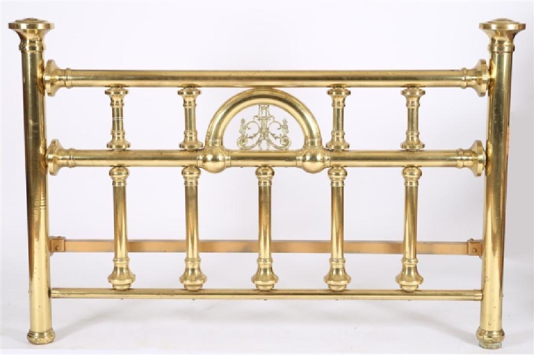 Victorian Brass Bed Frame - 3