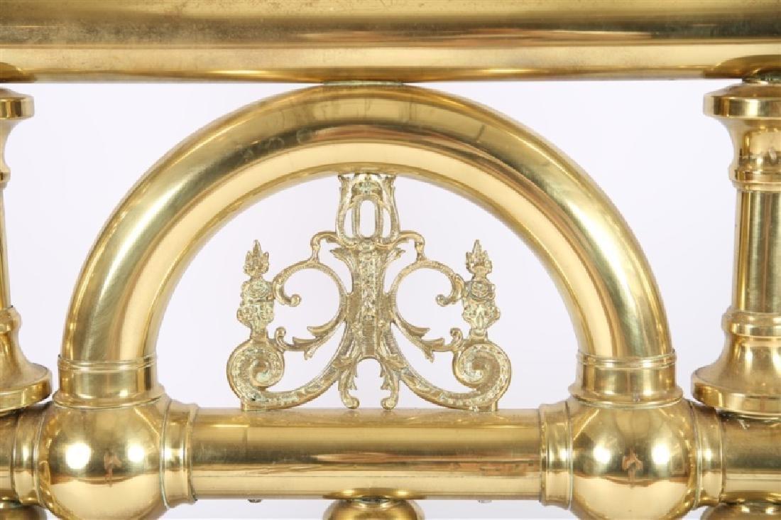 Victorian Brass Bed Frame - 4