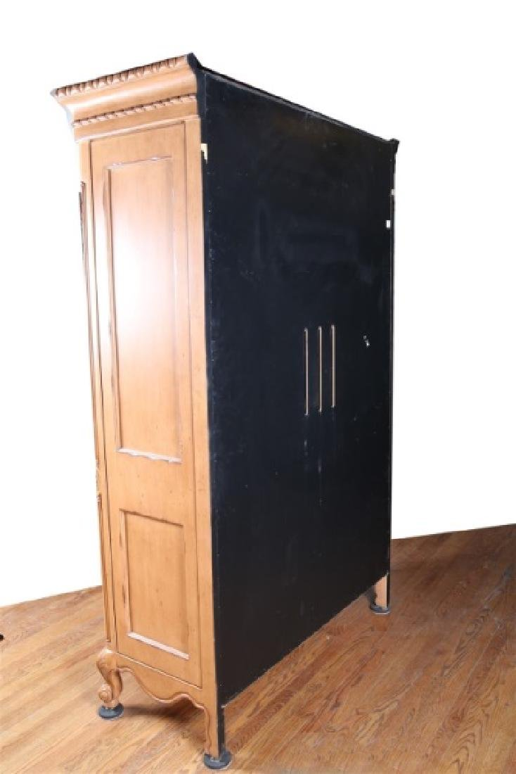 French-Style Wooden Armoire - 5