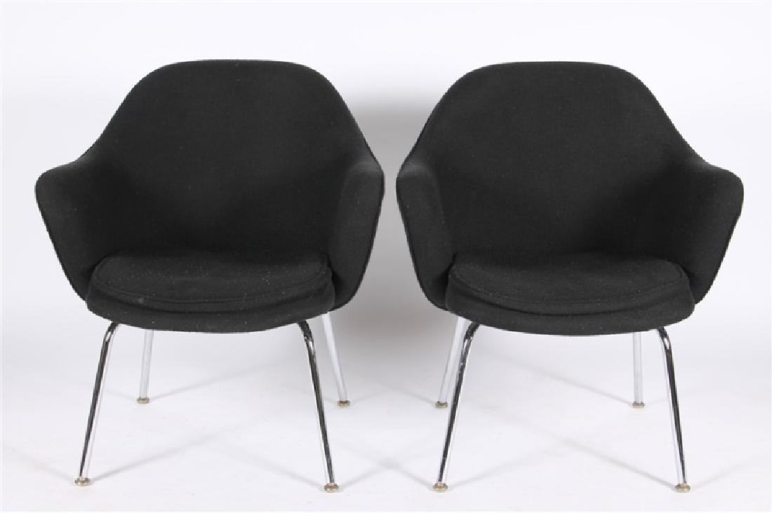 Eero Saarinen for Knoll, Pair of Arm Chairs