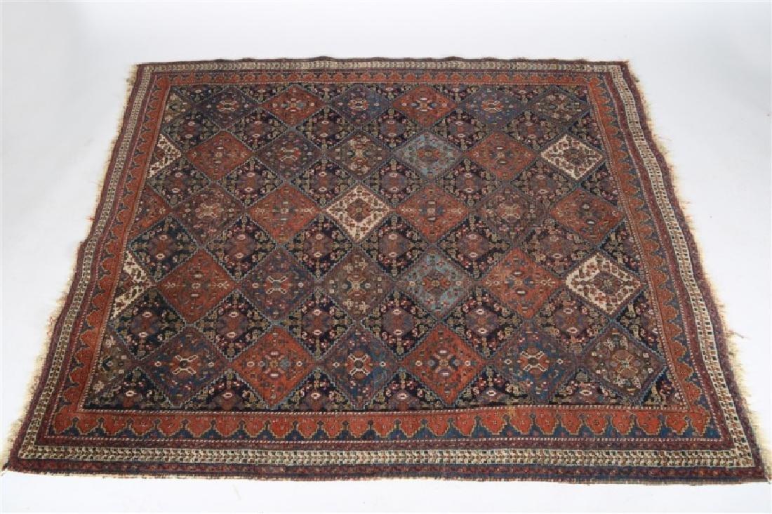 Afshar Rug (Iran, c. 1900-1910)
