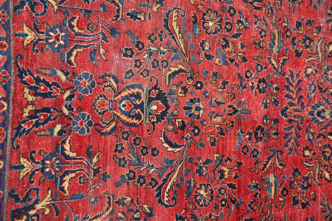 Kashan Rug (Iran, c. 1910) - 4