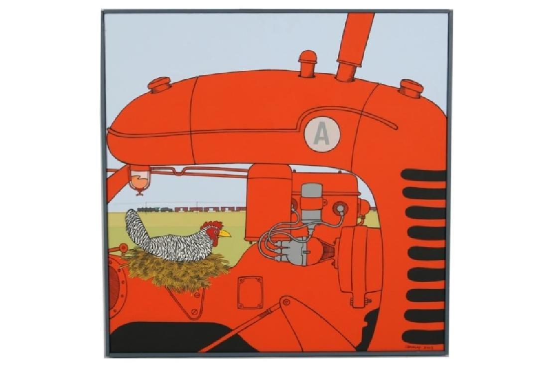 "Bruce Dunlap (American), ""A Chicken"""